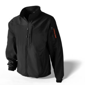 Men's Defender Concealed Carry Jacket - Black/Orange